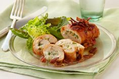 Creamy Stuffed Chicken Roll-Ups Recipe - Kraft Recipes