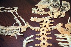 Sandrine Pelletier lace skeleton