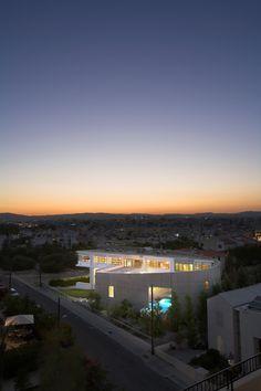 Chalkidos Street Residence in Lanarca, Cyprus by ARMON Choros Architektonikis