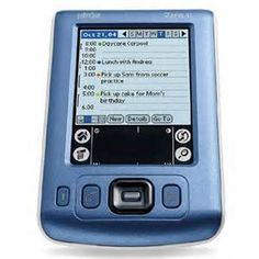 palm zire 31 - one of my first pdas
