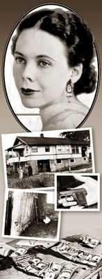 In 1933, 25 year-old Mary McElroy was bathing at the home of her father, Henry, when a gang of 4 masked men force their way into the house. Mary was kidnapped and held in the basement of a nearby farmhouse until her father paid the ransom late the following day. Mary suffered crippling shame and embarrassment after the kidnapping. She eventually took her own life in 1940, leaving a suicide note in which she stated that her captors were the only people on earth who didn't think she was a fool...