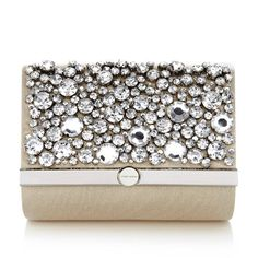 Karen Millen Jewel Encrusted Clutch ($175) ❤ liked on Polyvore