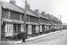 Terrace houses occupied when built by employees of the Navigation Department.  This image was scanned from a photograph in the Newcastle and Hunter District Historical Society archives which are held by Cultural Collections at the University of Newcastle, Australia.  If you have any information about this photograph, please contact us.  Please contact us if you are the subject of the image, or know the subject of the image, and have cultural or other reservations about the image being…
