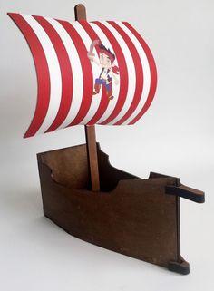 Barco Pirata centro de mesa