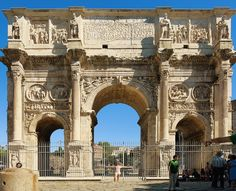 A million steps around Rome in one day by Wanderlust Storytellers. - The Arch of Constantine