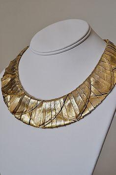 rare Les Bernard Modernist choker necklace