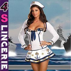 High quality cheap price sexy sailor costume CT1347-Wholesale Lingerie,China Lingerie Manufacturer,Cheap Sexy Lingerie,Sexy Costumes Supplies,lingerie manufacturer,sexy lingerie,lingerie supplier,cheap lingerie china,lingerie wholesale