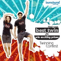 All Set For Day Two? We've Something Interesting To Grab For The Winners. Share More And Stand A Chance To Win. Just Make Sure You Use The Correct Hashtag. #TwinningWithBumchums #ContestAlert