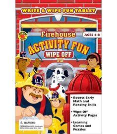 #cdwish list    Firehouse Activity Pad - Carson Dellosa Publishing Education Supplies