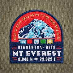 Parche de siete cumbres Monte Everest