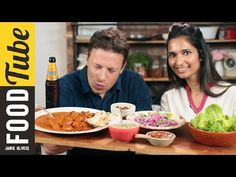 My Debut Video for Jamie's Food Tube cooking Butter Chicken Curry with Jamie Oliver