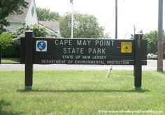 Cape May Point State Park in New Jersey - Home of the famous Cape May Lighthouse! Learn more about this park and find out the things you can see and do there!