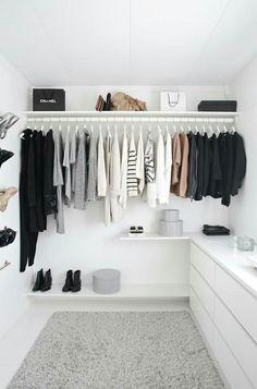 House decor goals | Walk in closet | Fashion | Bucketlist | Inspo | More on Fashionchick