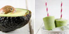 Creamy Avocado Green Tea Popsicles - Munchin with Munchkin