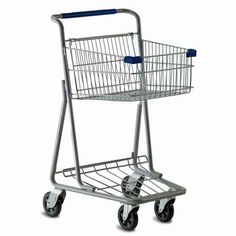 Model 5141 One Basket Convenience Grocery Shopping Cart