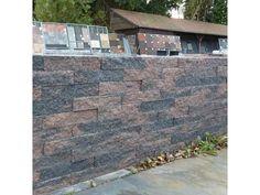 €0,75 / stuk: Brickwall Geknipt Brons 30x10x6 cm