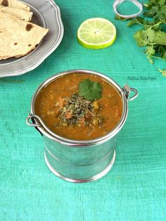 I have a South Indian version of green moong dal curry/pasi paruppu kuzhambuusing sambar powder that goes well with rice and tiffin varieties and here comes the North Indian style green moong dal curry/Hara Moong Dal Tadka that?s suits well for chapatti/roti and rice varieties. It has lot of names like Hari dal fry or Sabut moong dal or Akha mung dal in North side. However this green moong dalis very good for health and especially taking it in the form of sprouts or curry is too…