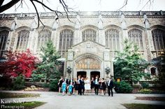 The Bridal Party shot by Kate Saler Photography