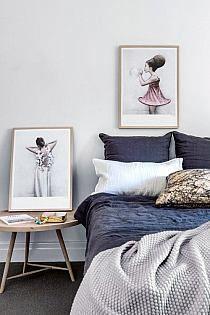 Winter Decorating Idea: DIY Drop Cloth Pom Pom Pillow -…
