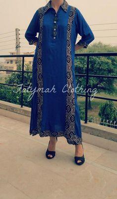 Fatymah Eid Ul Azha Collection 2013 For Women for women local brands Pakistani Casual Wear, Pakistani Outfits, Pakistani Long Kurtis, Khadi Kurta, Indian Fashion Trends, Edwardian Dress, Indian Couture, Kurta Designs, Suit Fashion