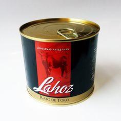 Rabo de toro Lahoz 550g 0,37€