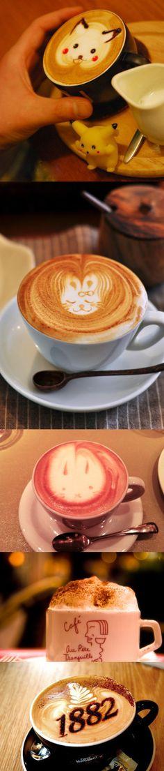 Coffee | コーヒー | Café | Caffè | кофе | Kaffee | Kō hī | Java | Caffeine | Cappuccino art