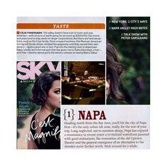 Ceja feat. in the Delta Sky Magazine!