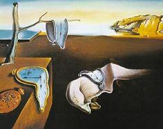 Persistence of Memory Salvador Dali