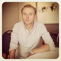 Simon Pegg #simonpegg @simonpegg - @glamouruk- #webstagram