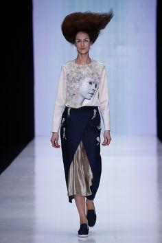Aka Nanita Russian fashion designer, collection 2016