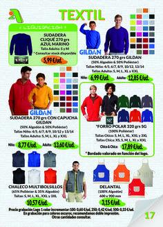 Página 17 - Textil Laboral #Gildan #FruitoftheLoom #SG #Roly