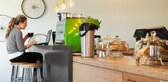 Green Grind Cafe, Canada by HOK