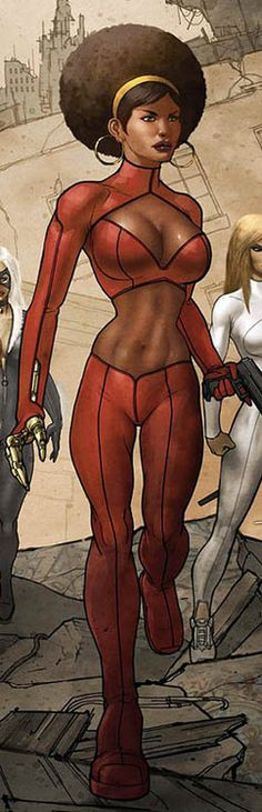 misty knight (Marvel comic book character)