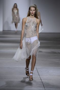 Topshop Unique SS15 catwalk at LFW. Watch the show on demand. #TopshopUnique #LFW #SS15
