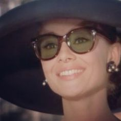 #audreyhepburn #glasses