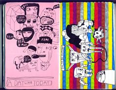 Featured Artists: Matteo Gualandris - Doodlers Anonymous