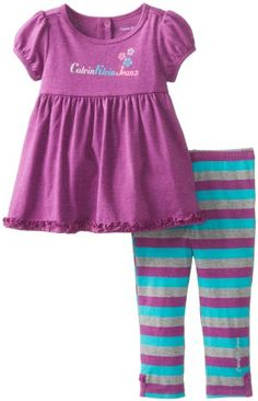Calvin Klein Baby-Girls Infant Tunic with Stripes Leggings, Purple, 12 Months Calvin Klein http://www.amazon.com/dp/B005A9H41E/ref=cm_sw_r_pi_dp_rbUYtb0JDVDRFHJ7