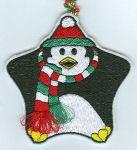 Freebie Penguin Ornament