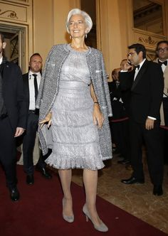 Best Fashion Tips For Women Over 60 - Fashion Trends 60 Fashion, Estilo Fashion, Over 50 Womens Fashion, Fashion Over 50, Fashion Outfits, Fashion Trends, Lagarde Christine, Classy Outfits, Stylish Outfits