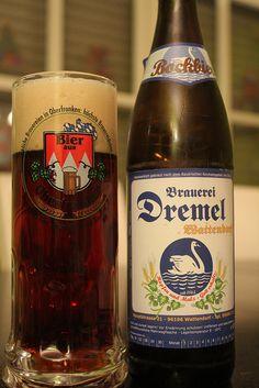 Bockbier der Brauerei Dremel aus Wattendorf