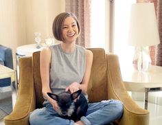 Orange Is the New Black's Kimiko Glenn Asked for Your Pet Advice — This Is What You Said! Kimiko Glenn, Lost Girl, Orange Is The New Black, Celebrity News, Picture Video, Your Pet, Short Hair Styles, Pets, Advice