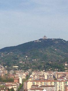 Basilica di Superga veduta dalla Mole Antonelliana!