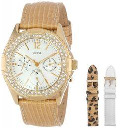 4a9106daa17 ...  ArmaniExchange. Compraeua .net · Relógios Feminino · Relógio GUESS  Women s U13597L1 Feminine Classic Hi-Energy Gold Tone Watch  Relogios  Guess