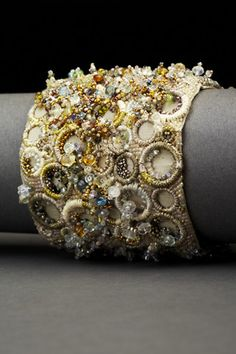 Rings of Madness Couture Cuff | Andrea Gutierrez Jewelry
