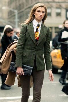 Lauren Remington Platt Las corbatas también son para las mujeres www.luxeaporter.com