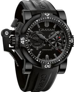 2OVEB.B38A « Oversize Diver « Chronofighter « Collection - Graham London #Watches #GrahamLondon #AttilaMéxico