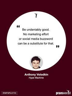 Be Undeniably Good – Anthony Volodkin