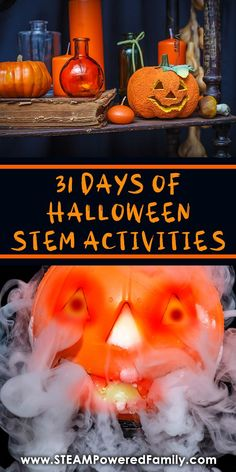 Love Halloween? Love STEM? Celebrate the countdown to Halloween with our 31 Days of Halloween STEM Activities. We have everything from spooky science experiments for your young scientists, engineering challenges that will have your pulse racing, math games and tech coding challenges to keep you on your toes, and even sensory and art activities to ensure everyone can have fun learning this Halloween. A little Halloween STEM for every day! #Halloween #STEMActivities #STEMActivity #STEMChallenges
