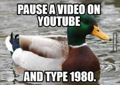 Just do it. With any Youtube video. Do it.
