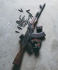"""primerprojects: """"The Woodgrain Gentleman, Wolf ammo from """" Weapons Guns, Guns And Ammo, Battle Rifle, Shooting Guns, Home Defense, Assault Rifle, Cool Guns, Firearms, Hand Guns"""
